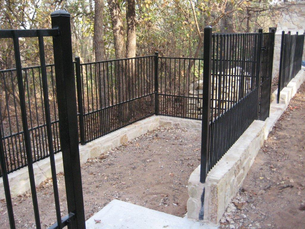 Residential Wrought Iron Fencing In Midlothian Wrought